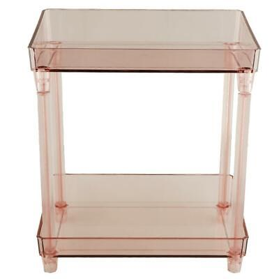 Lovoski 2 Tiers Desk Makeup Storage Organizer Cosmetic Holder Container Box