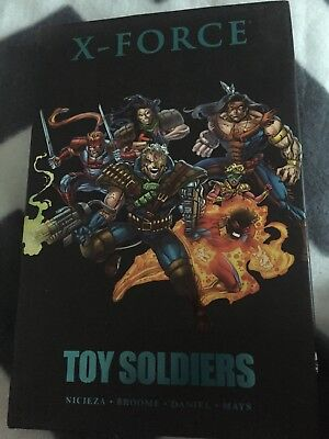 X-FORCE: TOY SOLDIERS HARDCOVER Marvel Comics Collects #26-31, Annual #2 HC