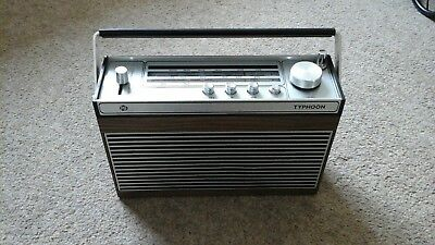 Vintage Pye Typhoon Radio
