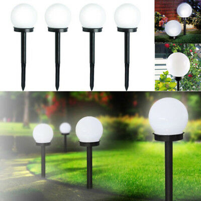 2* LED Solar Power Outdoor Garden Path Light Yard Lawn Road Spot Lamp Practical^
