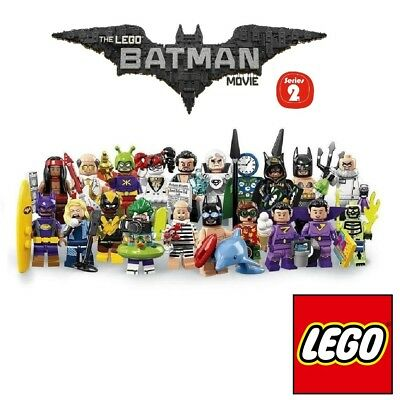 Pick your own Minifigure 🦇 LEGO 71020 Batman Collectible Minifigures Series 2