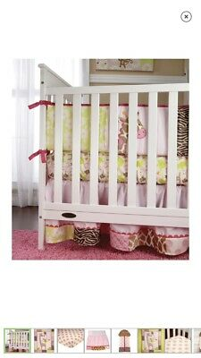 Carter's Jungle Collection Crib Bedding Full Nursery Set Over 20 Pieces