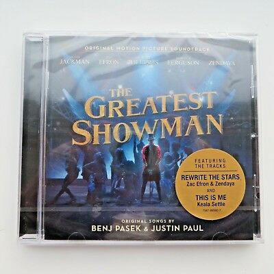 THE GREATEST SHOWMAN SOUNDTRACK CD New/Sealed