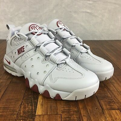 Nike Air Max CB 94 Low Wolf Grey Red Charles Barkley 917752-002 Mens Size 0f8ef9934
