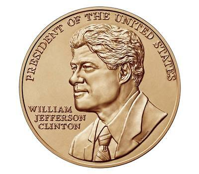 BRONZE MEDAL William J Clinton (FIRST TERM)  USA 1 5/16 Inch  US Mint