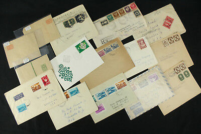Collection Lot 15 Bulgaria Covers Excellent Assortment Older, Airmail, Scarce ++