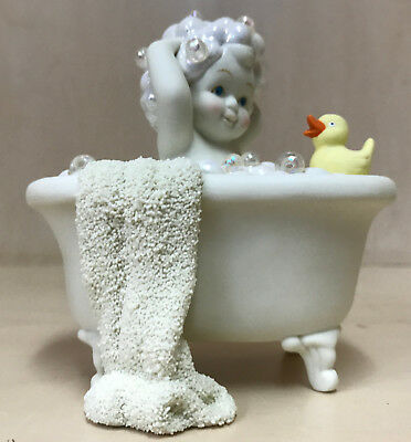 Snowbabies Bathed in Bubbles Figurine