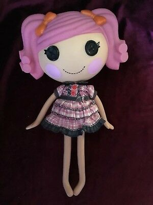 Lalaloopsy Full Size Doll Pink Hair Very Good Condition