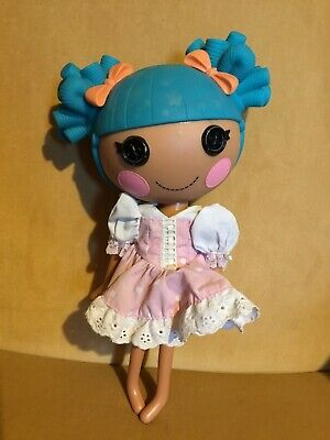 Lalaloopsy Full Size Doll Blue HaIr Excellent Condition