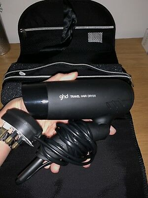 GHD Flight Travel Hairdryer & Protective Case