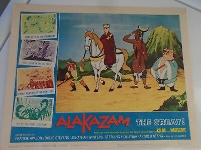 L2 Lobby Card 1961 ALAKAZAM The Great. Voice of Frankie Avalon Dodie Stevens