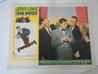 Lobby Card 1964 Jerry Lewis as THE PATSY Ina Balin Everett Sloan Phil Harris