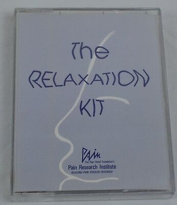 The Relaxation Kit Audio Cassette Book Pain Relief Foundation Research Institute