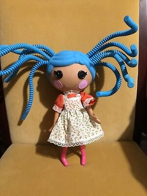 Lalaloopsy Full Size Doll Hand Made Clothing With Blue Silly Hair Excell. Cond.