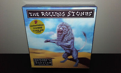 The ROLLING STONES : Bridges To Babylon Tour '97 (Box-set GER 13CD + DVD) - Live