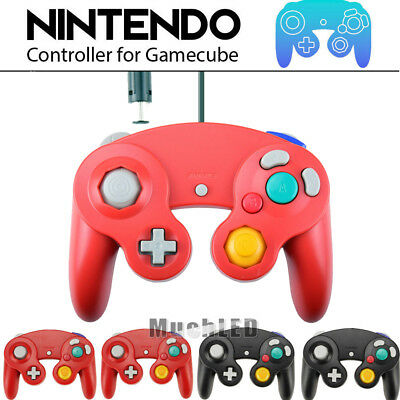 Lots 4 Wired Controller Dual Analog Shock Game Pad For Nintendo GameCube NGC GC