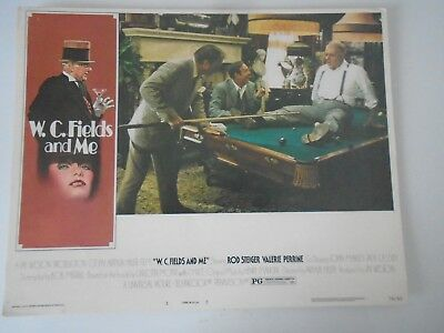 Lobby Card 1976 W.C. FIELDS AND ME Rod Steiger Valerie Perrine
