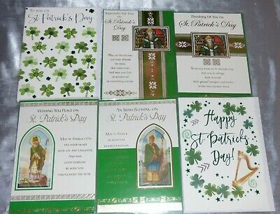 St Patricks Day Card Traditional Saint Irish March 17Th Ireland Choice Of 9