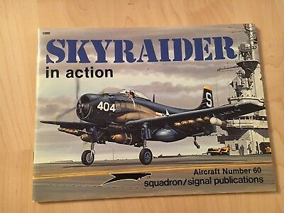 Squadron Signal Publication Aircraft 60 Skyraider in Action