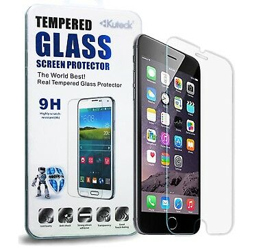 100% GENUINE TEMPERED GLASS SCREEN PROTECTOR FOR IPHONE 6 PLUS/ 6s PLUS