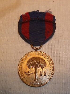 1899 Philippine Insurrection Medal - No. 7498