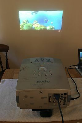 Sanyo PRO Xtrax PLC-11XT Projector with Unicol Mount