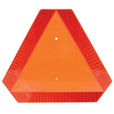 Warning Alert Slow Moving Vehicle Reflective Caution Sign Triangle Truck Tractor