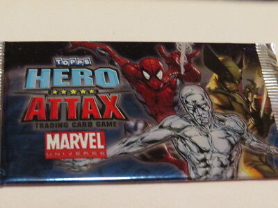 marvel HERO ATTAX MIRROR FOIL  topps trading card game #34 NIGHTMARE