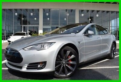 2015 Tesla Model S P85D ~~ Low Miles ~~ 1 - Owner Clean Carfax ~~ Must see !! 2015 P85D Used Automatic AWD
