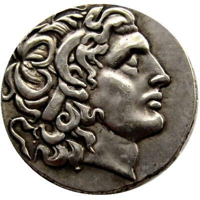 Ancient Greek King Alexander III the Great Silver Tetradrachm  336-323 BC