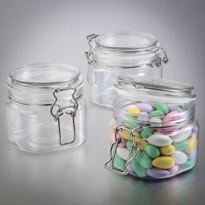 12 Large Acrylic Apothecary Jar Wedding Bridal Baby Shower Birthday Party Favors