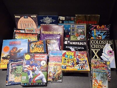 Over 20 games For the Amiga Some complete, some boxes, some missing items bundle