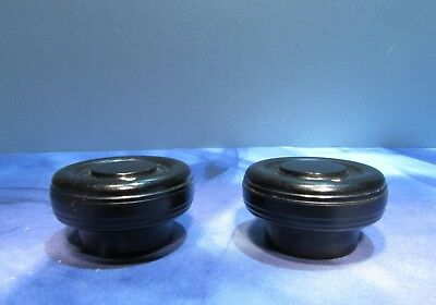 """Vintage Knobs for Electronic Instrument Radio 1/4"""" Hole Lot of 2"""