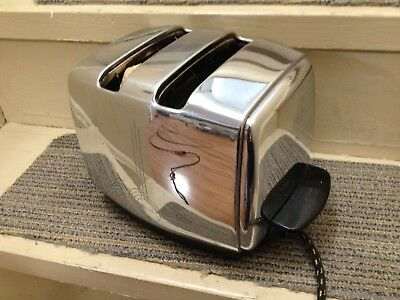 Vintage 1950 Mid-Century SUNBEAM T-20 A Automatic Chrome Toaster