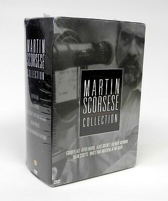 Martin Scorsese Collection (5-Pack) (DVD, 2004, 5-Disc Set) - NEW - SEALED