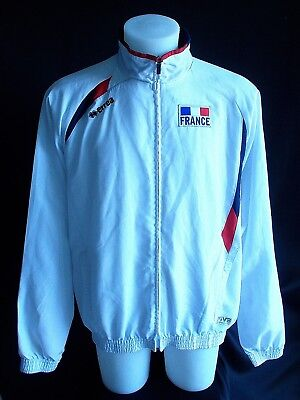 Veste  EQUIPE DE FRANCE VOLLEY BALL  Portée/Worn  MEDERIC HENRY  T. XXL