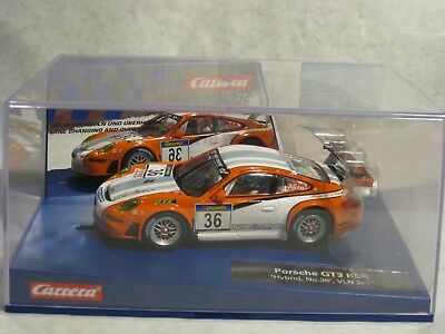 "Carrera Digital D132 Porsche GT3 RSR ""Hybrid, No. 36"", Art.Nr. 30714, NEU"