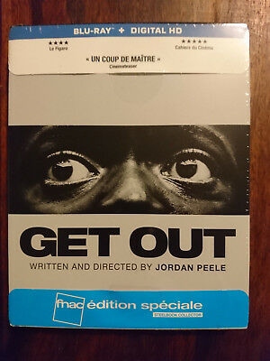 Get out blu-ray + copie digitale édition FNAC NEUF SOUS BLISTER