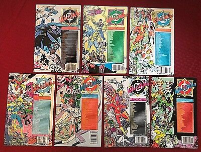 Who's Who lot DC 7 copies 1985 DC Mostly VF range