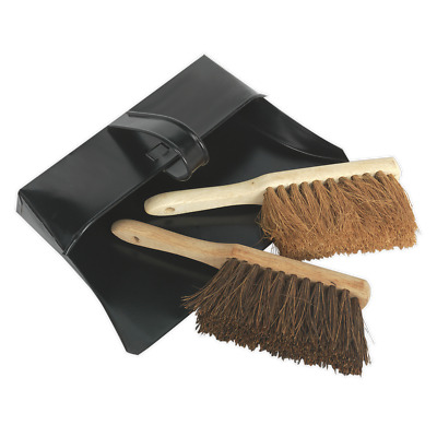 BM26 Sealey Dustpan & Brushes Metal [Janitorial]