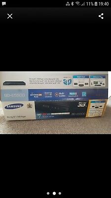 Samsung Blu-ray 3d/dvd Player. BD-E5500 BNIB
