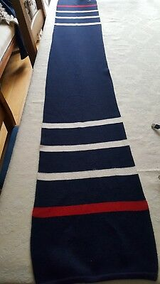 Paul And Shark Long Scarf. Made In Italy