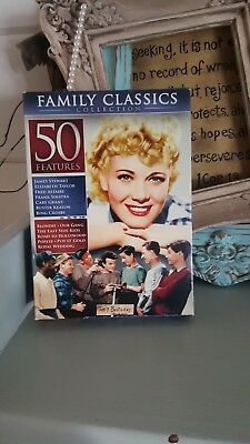 Fifty 50 Family Feature Family Classics Collection DVD Set New Bing Crosby