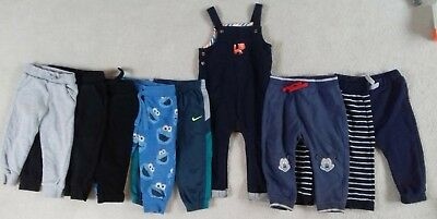 Boys joggers bottoms bundle dungarees 12-18 Next M&S John Lewis Nike