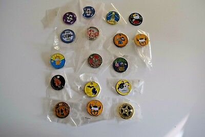 Lot of 17 Vintage Geocaching Pathtags