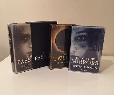 Justin Cronin. The Passage. Set of 3. MINT numbered limited editions