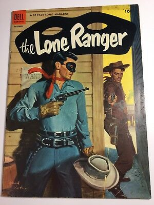 1953 Dell The Lone Ranger #65 Dollars Of Doom Golden Age Nice Ungraded Comics