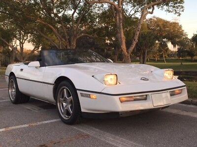 1989 Chevrolet Corvette C4 Convertible 1989 CORVETTE CONVERTIBLE ORIGINAL 71K MILES! BEST COLOR COMBO! NO RESERVE!!