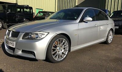 2008 Bmw 320I M-Sport Auto Spares Or Repair Salvage Fire Damage Hpi Clear,