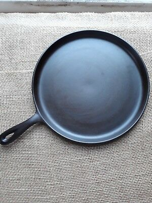 "Antique Lodge Cast Iron Griddle #9 Ghost ""E"""